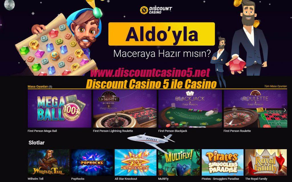 Discount Casino 5 ile Casino